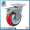 8 Inch Iron Core PU Swivel Caster Wheel (arc)