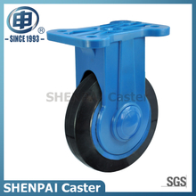 "5""Rubber Rigid Silent Caster Wheel"