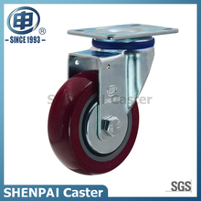 "3"" Polyurethane Swivel Caster Wheel for Medium Duty"