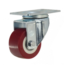 "1.5"" Polyurethane Swivel Caster Wheel with Ball Bearing"